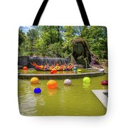 Chihuly Exhibition In The Atlanta Botanical Garden. #01 Tote Bag