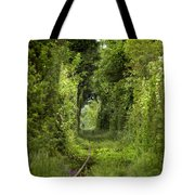 Famous Tunnel Of Love Location Tote Bag