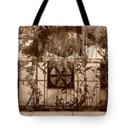 3 Fans And Vines Tote Bag