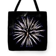 Firework Colors Tote Bag