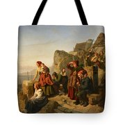 Fisher Families On The Coast Tote Bag