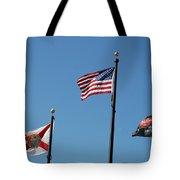 3 Flags Tote Bag