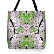 Floral Mural Tote Bag