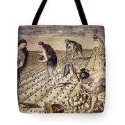 Florida Native Americans, 1591 Tote Bag