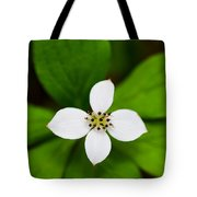 Flower Tote Bag by Adnan Bhatti