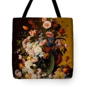 Flowers In A Glass Pitcher Tote Bag