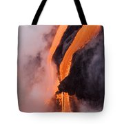 Flowing Pahoehoe Lava Tote Bag