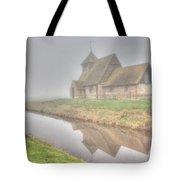 Foggy Fairfield Tote Bag