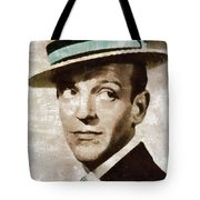 Fred Astaire Hollywood Legend Tote Bag