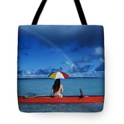 French Polynesia, Tetiaro Tote Bag