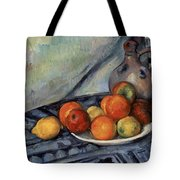 Fruit And A Jug On A Table Tote Bag