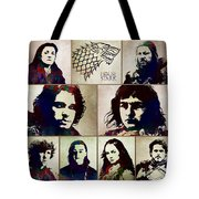 Game Of Thrones. House Stark. Tote Bag