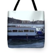 Genre Picture By Frozen Danube Tote Bag