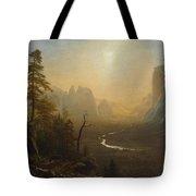 Glacier Point Trail Tote Bag