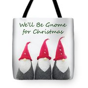 Christmas Gnomes Tote Bag
