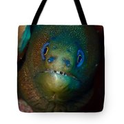 Golden Moray Eel Tote Bag