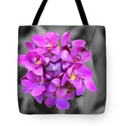 Fuchsia Ground Orchid Tote Bag