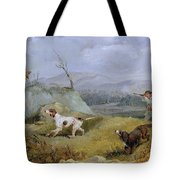 Grouse Shooting Henry Thomas Alken Tote Bag