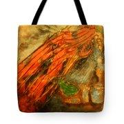 Hair Day - Tile Tote Bag