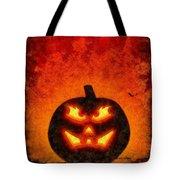 Halloween Pumpkin Tote Bag