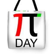 Happy Tau And Pi Day Tote Bag