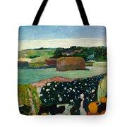 Haystacks In Brittany Tote Bag