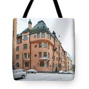 Helsinki At November Tote Bag