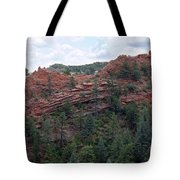 Hiking The Mesa Trail In Red Rocks Canyon Colorado Tote Bag