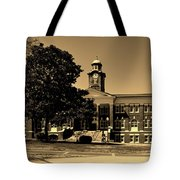 Historic White Hall - Tuskegee University Tote Bag