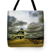 House At The End Of The Road Tote Bag