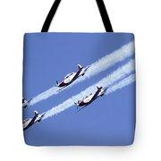 Iaf Acrobatic Team Tote Bag
