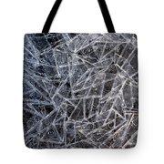 3. Ice Pattern 2, Corbridge Tote Bag