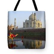 India's Taj Mahal Tote Bag
