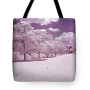 Infrared Garden Tote Bag