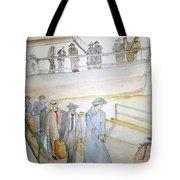 Italians  Ellis Island  Prohibition Album Tote Bag