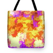 It's An Abstract Day Tote Bag