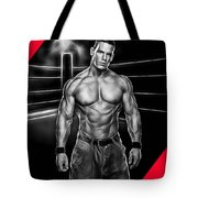 John Cena Wrestling Collection Tote Bag