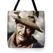 John Wayne Hollywood Actor Tote Bag