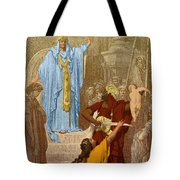 Judgment Of Solomon Tote Bag