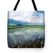 Kauai, Wet Taro Farm Tote Bag