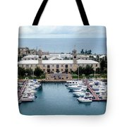 Kings Wharf Bermuda Tote Bag