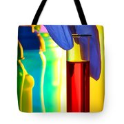 Laboratory Test Tube In Science Research Lab Tote Bag