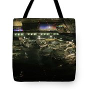 Laguardia Airport Aerial View Tote Bag