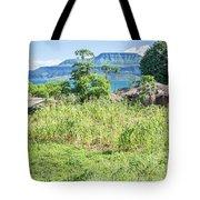 Landscape At The Lake Malawi Tote Bag