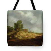 Landscape With A Cottage Tote Bag