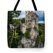 Lichtenstein Castle - Baden-wurttemberg - Germany Tote Bag