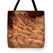Light And Shadow In Mud Tote Bag