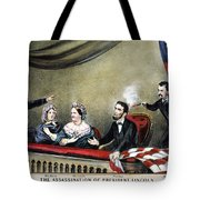 Lincoln Assassination Tote Bag