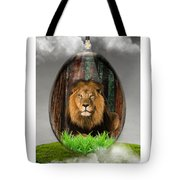 Lion Art Tote Bag
