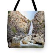 Lower Yosemite Fall In The Famous Yosemite Tote Bag